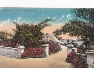 Bermuda Entrance to Girvan Paget