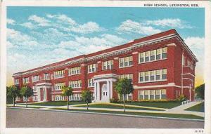 High School, Lexington,  Nebraska,  PU-00-10s