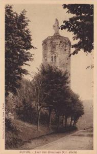Tour Des Ursulines XII Siecle, Autun (Saone et Loire), France, 1910-1920s