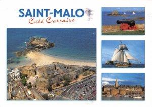 France La Cote d'Emeraude Saint Malo The Castle National Fort Petit Be Postcard