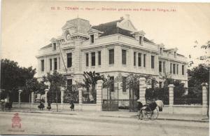 CPA Vietnam Indochine - TONKIN Hanoï - Direction générale des Postes (60469)