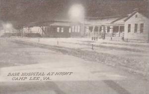 Base Hospital  At Night, Camp Lee, Virginia, 00-10s