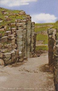 The Giant's Causeway , Co. Antrim , Northern Ireland , PU-1954