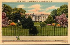Washington D C White House South Side 1946