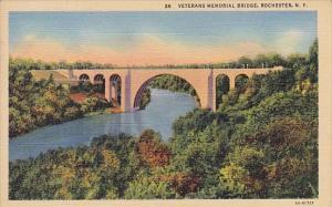 New York Rochester Veterans Memorial Bridge