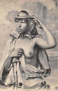 Danseuse Bedouine Arab Nude Unused