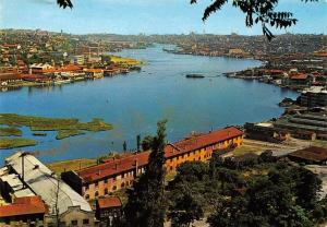 Turkey Istanbul A view of the Golden Horn from Pierre Loti Goldener Horn