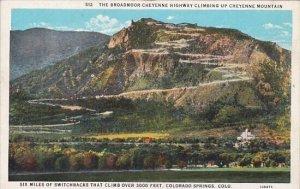 The Broadmoor Cheyenne Highway Climbing Up Cheyenne Mountain Yellowstone Park...