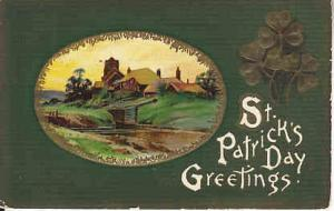 St. Patrick's Day  1914 Card