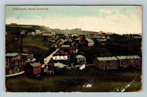 Dobcross, UK-United Kingdom, Scenic Greeting, Houses, Vintage Postcard