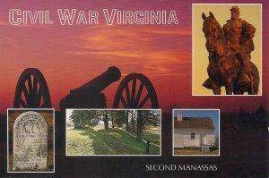Manassas VA, Civil War Battlefield, Confederate Cemetery, Stonewall Jackson