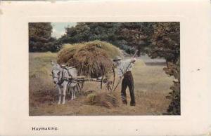 Michigan Haymaking Loading Wagon