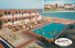 Windward Resort Motel , MIAMI BEACH , Florida , PU-1961 ; Swimming Pool # 2