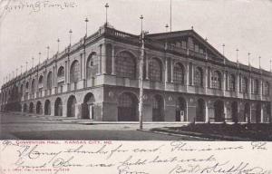 Missouri Kansas City Convention Hall 1905
