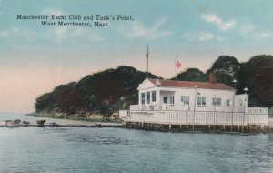 WEST MANCHESTER, Massachusetts, 1900-10s; Yacht Club & Tuck's Point