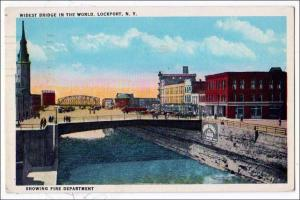 Widest Bridge in World, Lockport NY