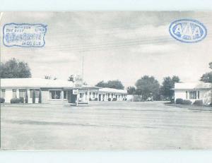 1950's LA FONDA MOTEL Vernon Texas TX G7949
