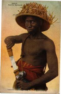 CPA Senegal-Dakar-Guerrier Bambara (235493)