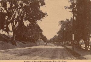 Highway Infront Of Buttonwoods, Haverhill, Massachusetts, 1900-1910s
