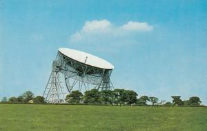 JODRELL BANK, Cheshire, England, 1971; The Radio Telescope