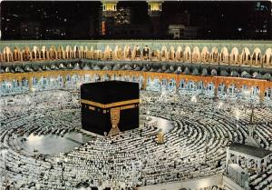 B50782 Evening Prayer In Holy Kaaba  saudi arabia