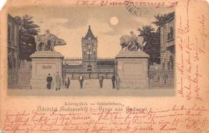 Budapest Republic of Hungary Kozvagohid, Schlachthaus Budapest Kozvagohid, Sc...