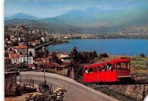 Switzerland Lugano Funicular Railway, Funicolare del Mte. S. Salvatore