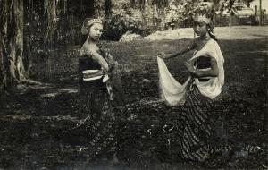 indonesia, JAVA, Native Javanese Dancers (1930s) RPPC Postcard