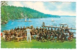 Scalped Edge, Senior Symphony Orchestra on Waterfront, Camp of Fine Arts, Par...