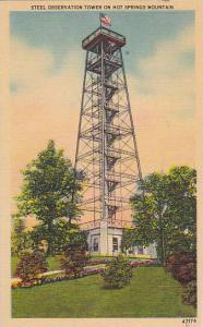 Steel Observation Tower on Hot Springs Mountain, Arkansas, PU-1949
