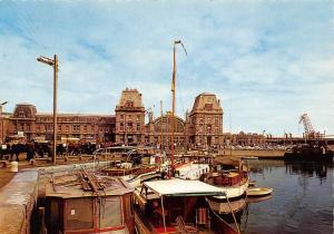 Belgium Oostende Maritiem Station Gare Maritime Boats Bateaux