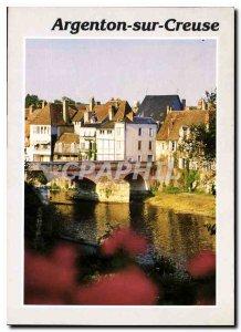 Modern Postcard Argenton sur Creuse Indre Creuse