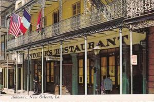 Louisiana New Orleans Antoine's Restaurant 1978