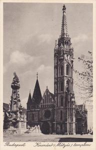 Koronaxo (Matyas) Templom, Budapest, Hungary, 1910-1920s
