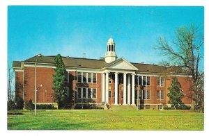 NJ Bordentown Administration Educational Building Vintage New Jersey Postcard