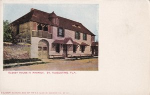ST. AUGUSTINE, Florida, 1901-1907; Oldest House In America