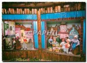 Postcard Modern Besuchen Sie bitte den Heimo-Maerchengarten set-Cafe Terrace ...