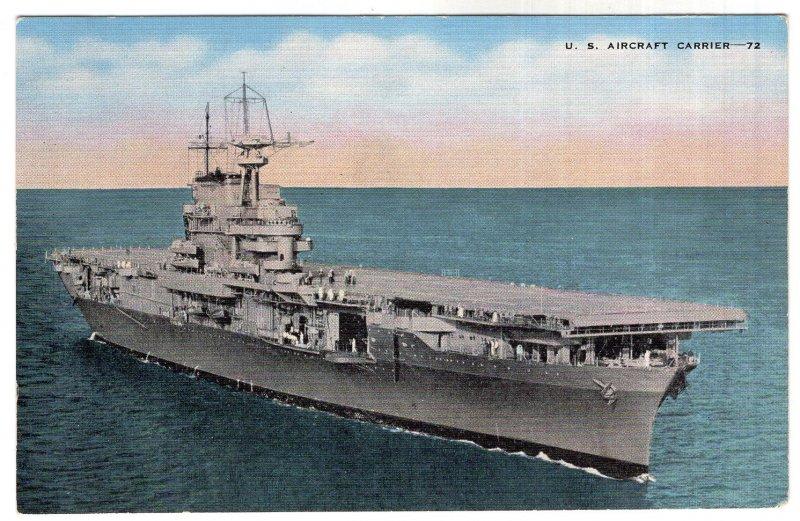 U. S. Aircraft Carrier