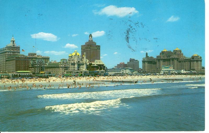 US    PC1665 SKYLINE OF ATLANTIC CITY, NJ