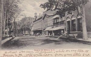 MILFORD, New Hampshire, PU-1906; Nashua Street