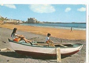 Postal 045061 : El Medano. Tenerife. Vista parcial y playa