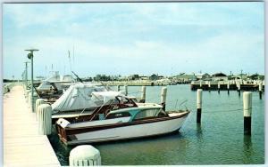 Postcard MD Havre De Grace Double Decker Bridge over