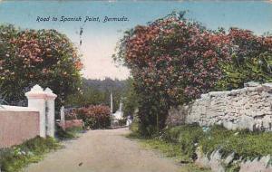 Road to Spanish Point,  Bermuda, PU-1924