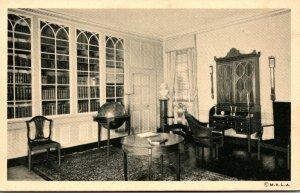 Virginia Mount Vernon Washington's Mansion The Library 1949