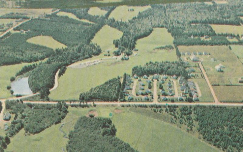 Aerial View Green Cables Golf Course - Cavendish PEI Prince Edward Island Canada
