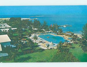 Pre-1980 SWIMMING POOL AT HOTEL West End - Grand Bahama Island Bahamas F6235@