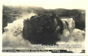 Real Photo - Cataracts - Twin Falls, Idaho ID