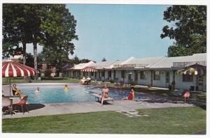George - Anna Motel, Swimming Pool, JACKSON, Tennessee, 40-60s