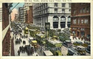 Fifth Avenue New York City NY 1925