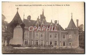 Old Postcard The Colony Children Meilleraie by Pouzages The colony of Motte c...